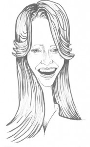 caricature of Maria